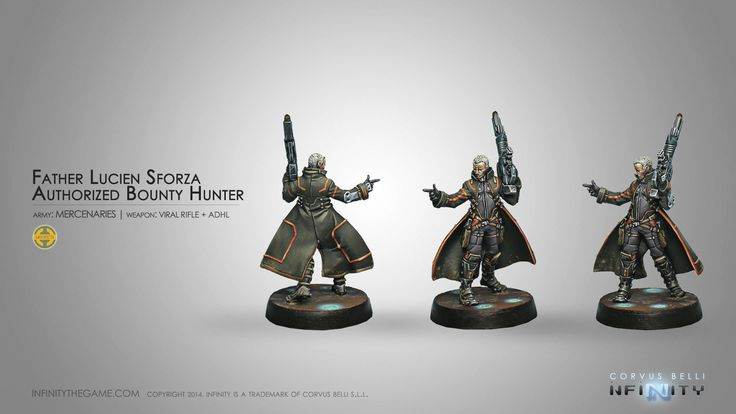 Father Lucien Sforza, Authorized Bounty Hunter (Viral Rifle + ADHL)