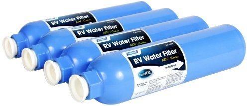 Camco TastePURE Inline Water Filter, Greatly Reduces Bad Taste, Odors, Chlorine