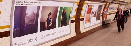 Art Below thrive on providing artists with access to advertising in the London Underground