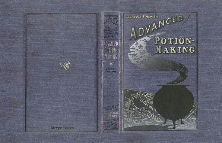 DIY Advanced Potion-Making cover  link to more covers: http://rosegranger.deviantart.com/art/Advanced-Potion-Making-253231817