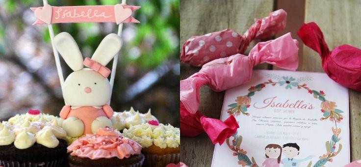 Muchas ideas para un baby shower de los sueños. Preciosas decoraciones rosadas para la futura guagua mujer