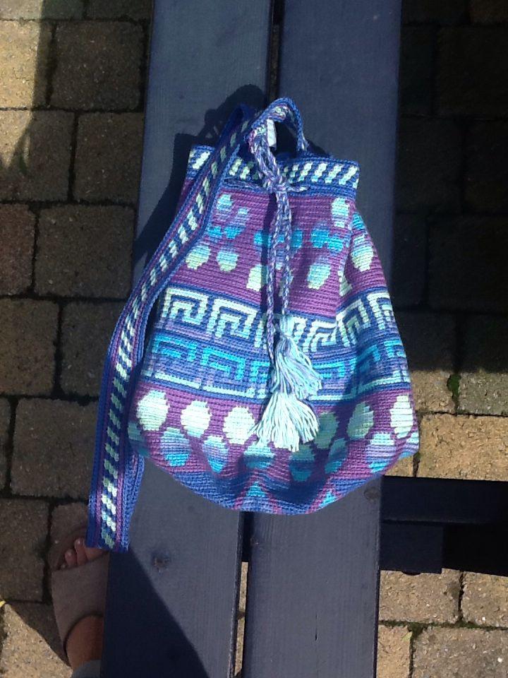 Mochilla look a like Crochet bag