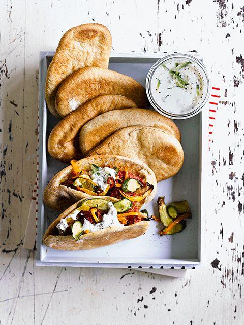 How to make pitta breads   Jamie Magazine