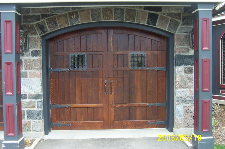 15 best images about rustic garage doors on pinterest for Coach house garage cost