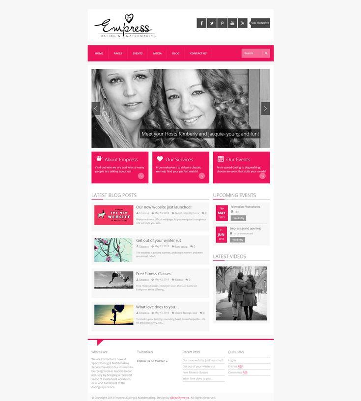 Empress Dating website! | Objectify Modern Design Solutions @Empress Dating