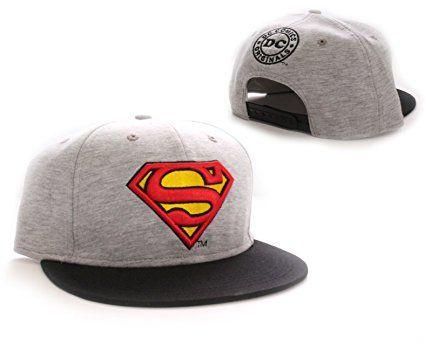 Superman Classic Logo DC Comics Jersey Snapback Cap