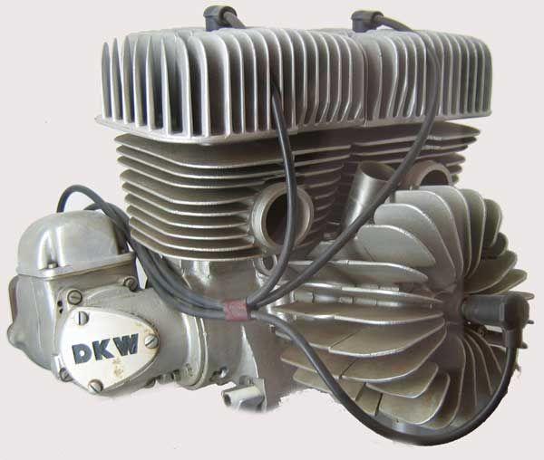 1953 DKW 3-cylinder racer
