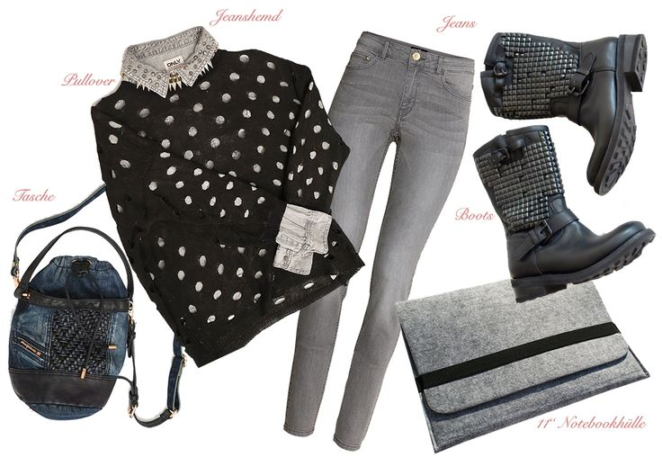 Jeans Look THE DAILY OUTFIT #15 - THE XED http://xed.at/2014/10/jeans-look-daily-outfit-15/