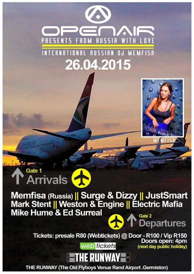 The next big event you can catch me at laying down some phat trax with my mate Mike Hume with DJ MEMFISA, Russia...