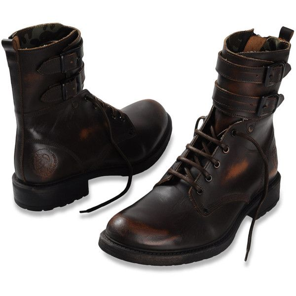 Brought to you by http://publishingaddict.com/ Dress shoe Men ELWOOD - Footwear Men on Diesel Online Store, found on polyvore.com