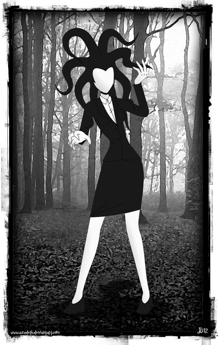 Slender Girl (Slender Man Rule 63) by Azadeth.deviantart.com on @deviantART