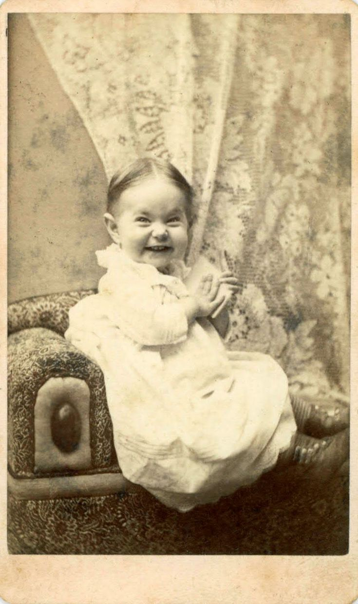What an amazing picture! rare expression for 1800s photography!