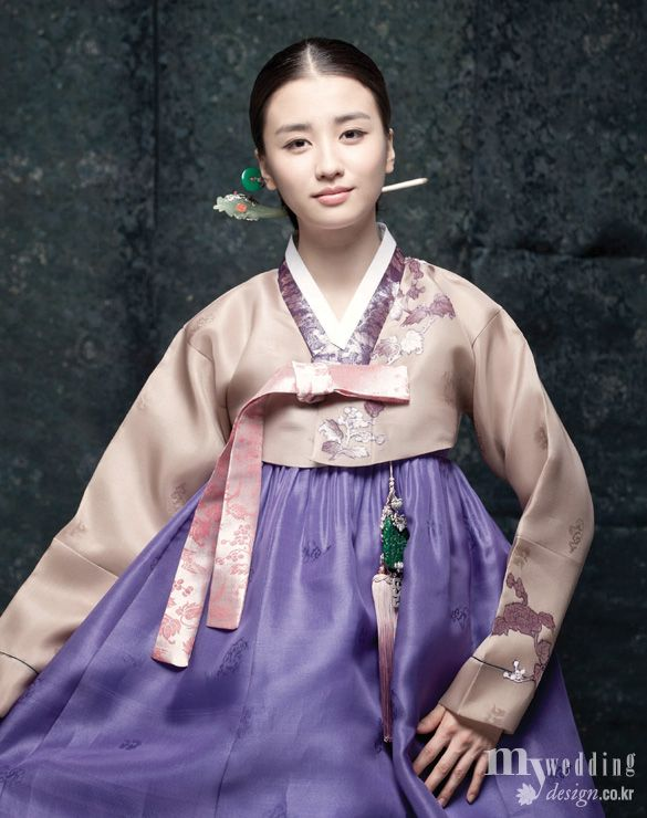 Hanbok, korean traditional clothes / 송혜원 / 박하선 / 단아한 기품 / My wedding