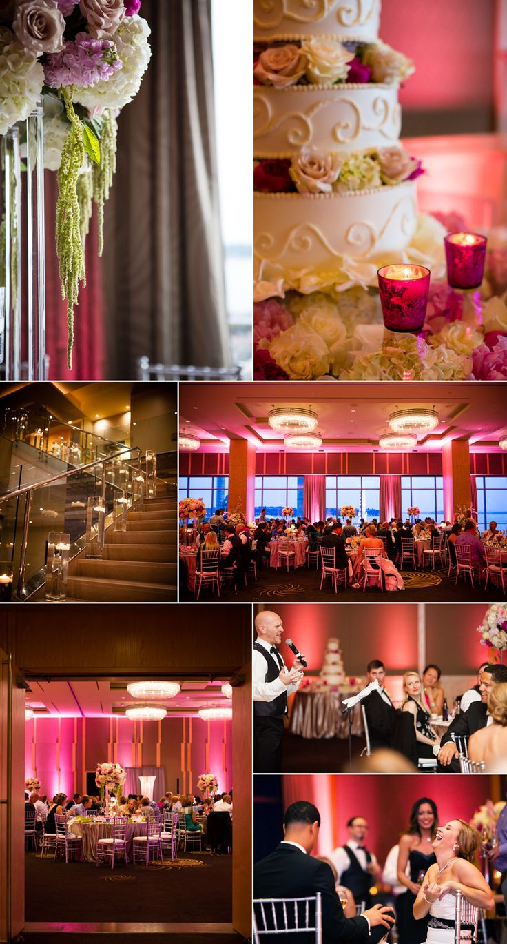 Leslie and Lincoln's phenomenal wedding vendors: Wedding Coordinator: Janel Ellefson, Occasions Wedding and Event Planning Location: Four Seasons Hotel Seattle Officiant: Annemarie Juhlian DJ: Austin Beaver Photobooth: 1000 Words Photobooth Hair & Makeup: Salon Maison