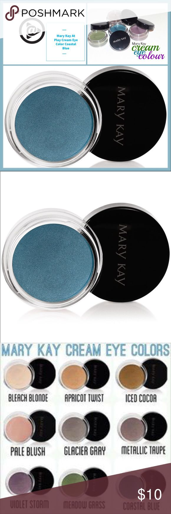 🆕 Mary Kay Cream Eye Color Coastal Blue 🆕 Mary Kay Cream Eye Color Coastal Blue ▪️This soft, creamy, long-wearing formula glides on easily, lasts for 10 hours and can be applied in multiple layers to deliver more noticeable color while retaining a lightweight feel. ▪️Can be used alone or as a primer under mineral eye color. ▪️Dries quickly & does not transfer. ▪️Oil- and fragrance-free. ▪️Clinically tested for skin irritancy and allergy, suitable for sensitive skin and eyes. ▪️Note: In…