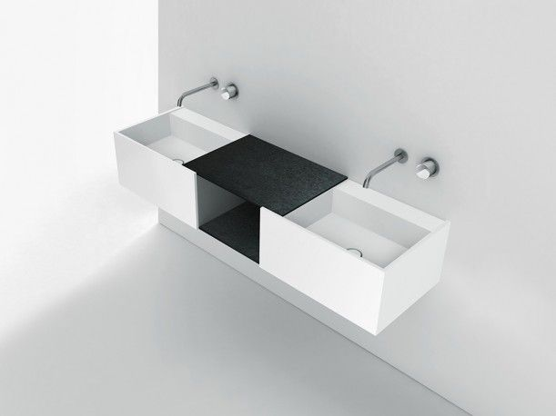 SOHO suspended , modular base unit push-opening designed by Piero Lissoni & CRS Boffi for BOFFI.    http://santiccioli.com/en/collections/?filter=product&name=soho