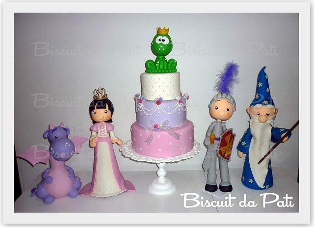 Um conto de Princesa =) by Biscuit da Pati, via Flickr