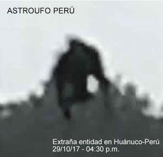 Inexplicata-The Journal of Hispanic Ufology: Peru: Strange Entity Recorded in Huánuco