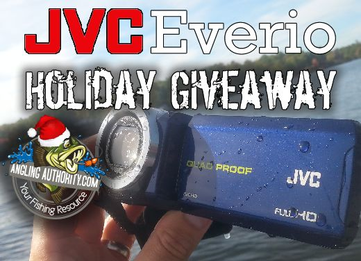 JVC Everio - Holiday Giveaway - AnglingAuthority.com  It's Waterproof/Freezeproof/Shockproof/Dustproof and it floats!