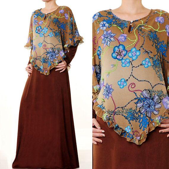 2619 Two Piece Ladies Islamic Abaya Long Sleeves by MissMode21