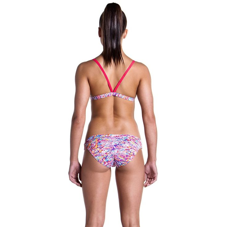 Funkita 'Pollock Party' Brizillian Top & Hipster Brief - Ladies