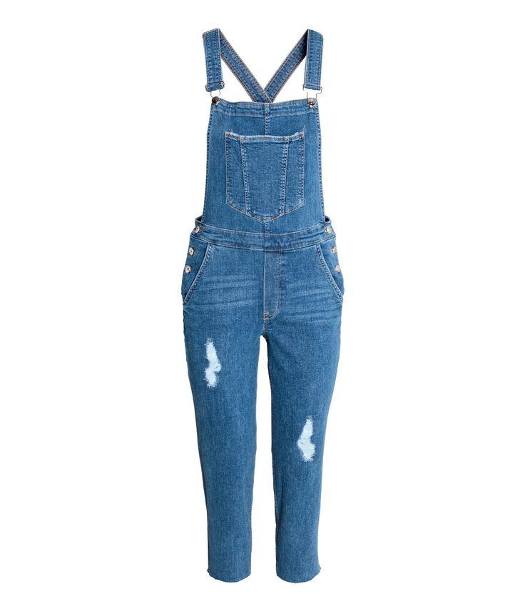 Latzhose aus Denim   Blau   Damen   H&M DE