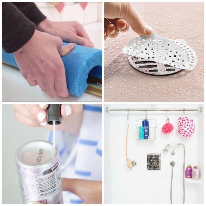 shower hacks every woman needs to know