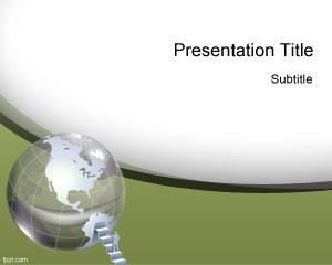 global resources powerpoint template free download