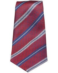 turnbull asser Oxford Stripe Tie in Red - Cerca con Google