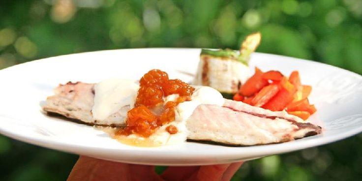 Makrell med rømme og multer - OBS!OBS! Det høres rart ut, javisst, men multer og makrell er en superkombinasjon!