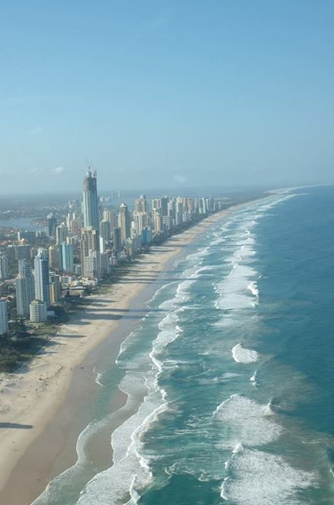 Surfers Beach, Queensland, Australia amazing we love it