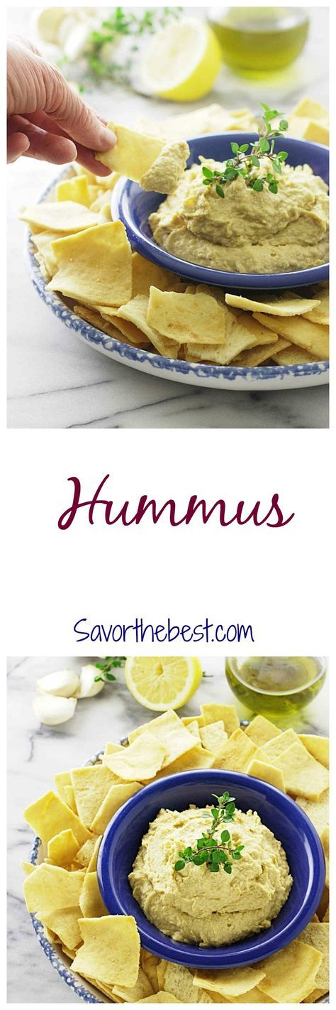 A creamy, traditional style hummus dip made with garbanzo beans. Serve with raw…
