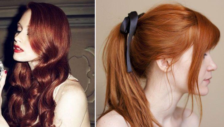 cabelo ruivo cores para inspirar