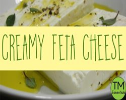 Creamy Feta Cheese