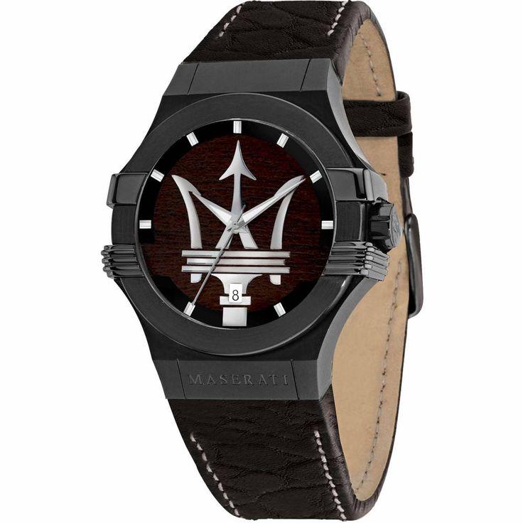 El Maserati Potenza es un reloj de caballero de Edición Limitada ideal para los amantes de los relojes y del motor. Este reloj tiene una caja de acero inoxidable pavonada en negro y una correa de piel. El logo de la marca presente en la esfera es el verdadero protagonista de este diseño. Con oferta del 10% lo podrás adquirir en http://www.todo-relojes.com/detalle.asp?codigo=29952 por 257€ #relojesMaserati #relojesEdicionLimitada #relojesmundomotor #relojeshombre #ofertasrelojes #todorelojes