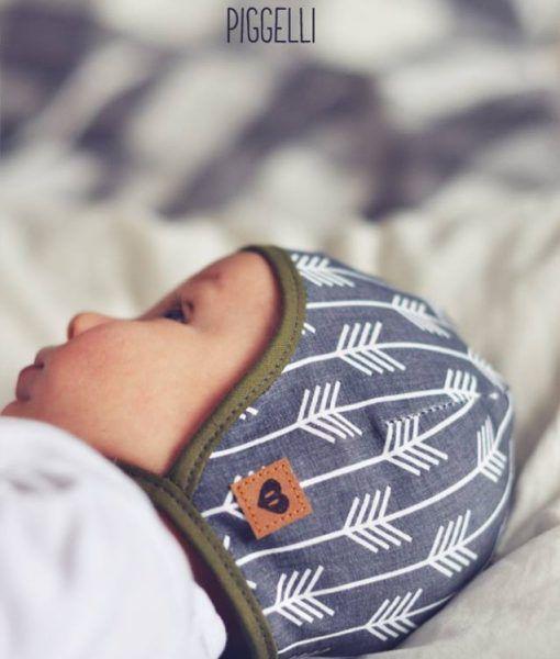 Babymütze nähen Schnittmuster Freebook Käppchen Rockers