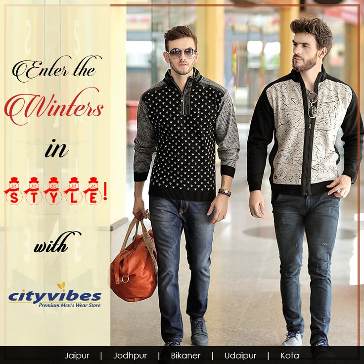 Give your unique personality a fashion boost with our latest men's winter collection. With #Endlessways and #trends to rev up your style quotient, we make sure you stay at the top of your game, always! Visit nearest store in your city today. #Sherwani #IndoWesterns #Suits #WaistCoats #PartyWear #Shirts #KurtaPajyama #Formals #Casuals #Wedding #Traditional #kotacity #Menswear #Fashion #Winter #Winterwear #Sweater #Jacket #Hoodie