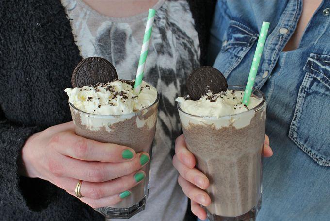 Oreo Milkshake...do we need to say more?