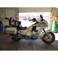 Used 1986 Honda Gold Wing Aspencade Motorcycles For Sale in Missouri,MO. 40,283 miles, Air Ride, Built-In Air Compressor for Tires, AM/FM, Fuel Injection, CB Compatible, Passenger Armrests, Cruise ControlSPECIAL EDITION