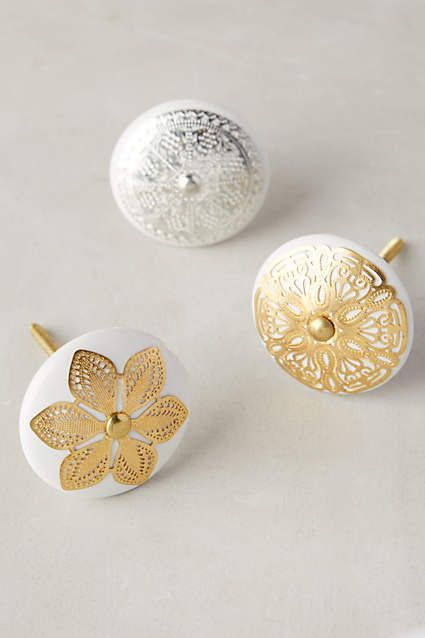 Etched Blossom Knob - anthropologie.com #anthroregistry