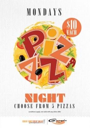 Pizza Night POS design by Copirite
