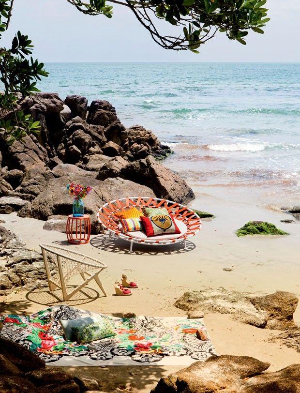 Cozy little private beach, paradise!