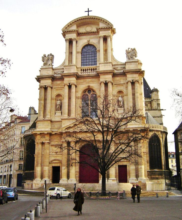 Salomon de Brosse i Clement Metezeau, Kościół St Gervais et St Protais - Szukaj w Google