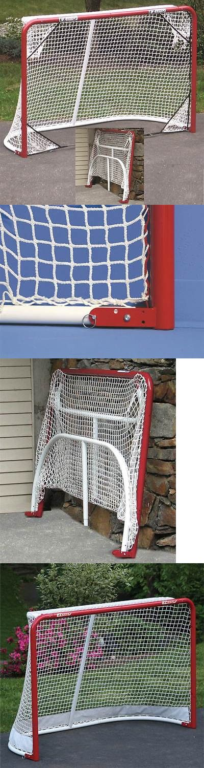 Goals and Nets 165936: Folding Metal Hockey Goal In Red W Targets [Id 2795164] -> BUY IT NOW ONLY: $110.76 on eBay!
