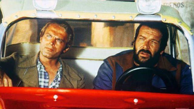 Raus oder die Wanze ist platt! Ben & Kid aka Bud Spencer & Terence Hill, Zwei wie Pech & Schwefel.