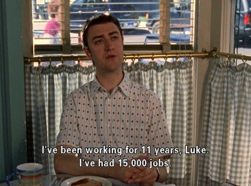 """When you try to update your resume.   Community Post: 20 Times Kirk From """"Gilmore Girls"""" Was Incredibly Relatable"""