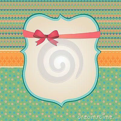 Invitation Card Background, Border Frame Patterns Stock Photography - Image: 36122082