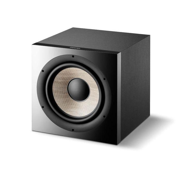 Le Sub 1000 F de Focal est un atout de taille dans le grave pour accompagner les différents systèmes multicanaux, en stéréo ou Home Cinéma.