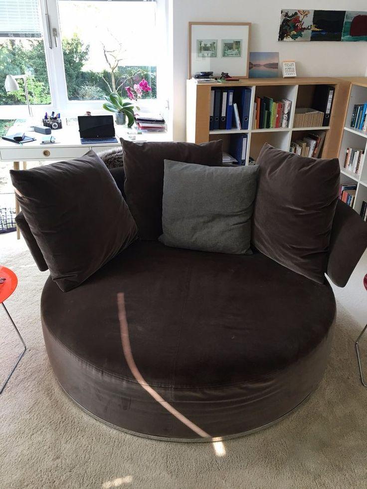 Sofa runde form  Die besten 25+ Rundes sofa Ideen auf Pinterest | Möbel, Gebogenes ...