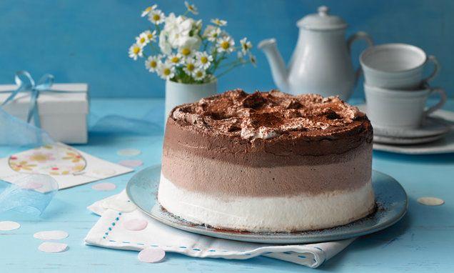 Ombre Tiramisu Torte Rezept Tiramisu Torte Rezept Tiramisu Kuchen Tiramisu Torte